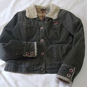 Roxy Corduroy jean jacket.